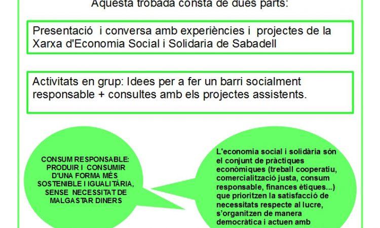 Economia social i solidària a La Creu Alta